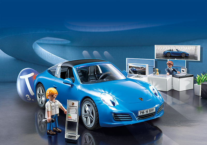 playmobil 5991 porsche 911 targa 4s rcshop. Black Bedroom Furniture Sets. Home Design Ideas