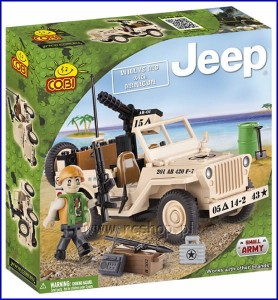 24091 COBI - Willys MB with Minigun