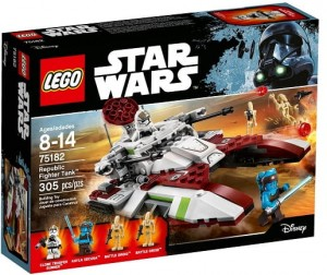 LEGO 75182 Star Wars Czołg bojowy republiki