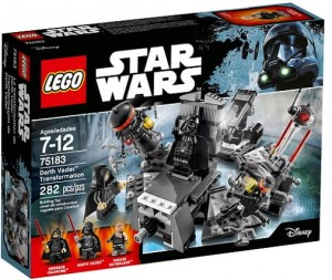 LEGO 75183 Star Wars Transformacja Lorda Wadera