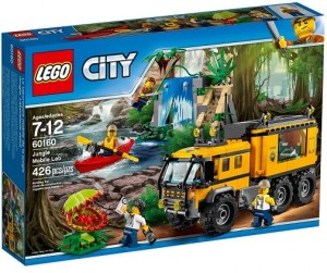 LEGO 60160 City Mobilne labolatorium