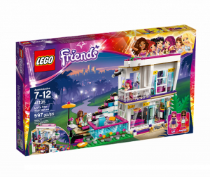 LEGO 41135 Friends Dom Gwiazdy pop Livi