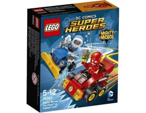 LEGO 76063 Super Heroes Flash kontra Kapitan Cold