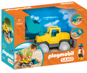 PLAYMOBIL 9145 Koparka do piasku