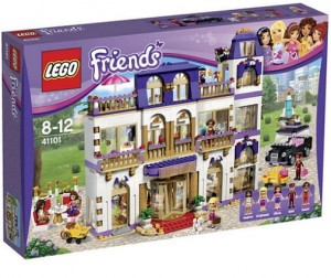 LEGO 41101 Friends Grand Hotel w Heartlake