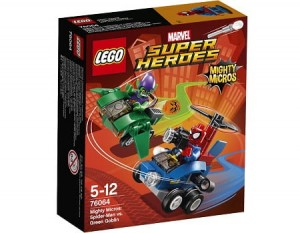 LEGO 76064 Super Heroes Spiderman kontra Zielony Goblin