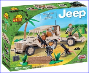 24190 COBI - Jeep Willys MB with Mortar