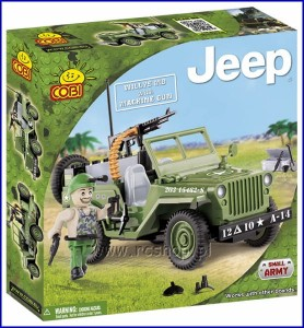 24090 COBI - Jeep Willys MB with Machine Gun