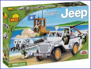 24253 COBI - Jeep Willys MB Coast Patrol
