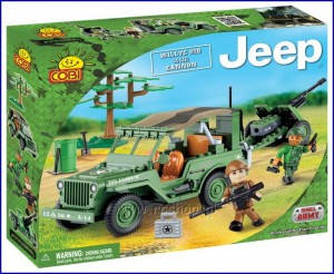24191 COBI - Jeep Willys MB with cannon