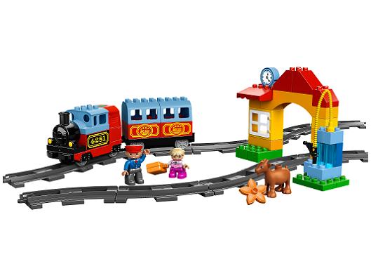 LEGO 10507 Duplo Mój pierwszy pociąg