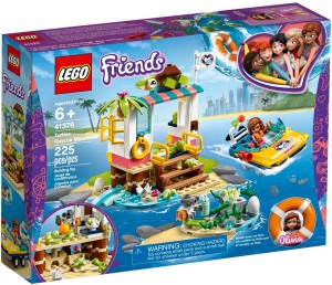 LEGO® FRIENDS 41376 Na ratunek żółwiom