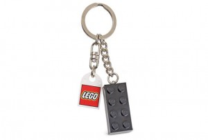 852098 LEGO - Breloczek Key Chain Black Brick