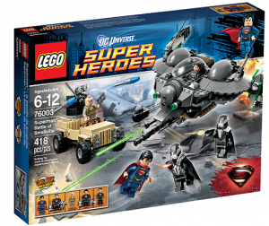 LEGO 76003 Super Heroes Superman:Battle of Smallville