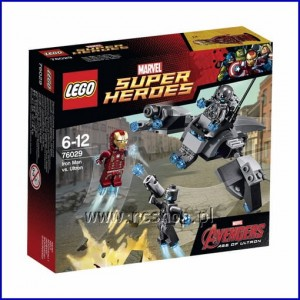 76029 Super Heroes - Iron Man vs. Sub Ultron