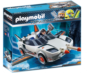 PLAYMOBIL 9252 Agent Spay Racer