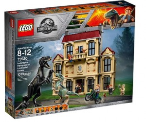 LEGO 75930 Jurassic World Atak indoraptora