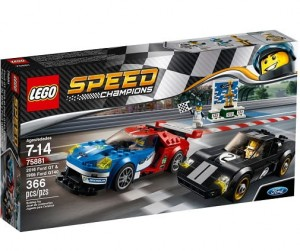 LEGO 75881 Speed Champions Ford GT 2016 &Ford GT1966