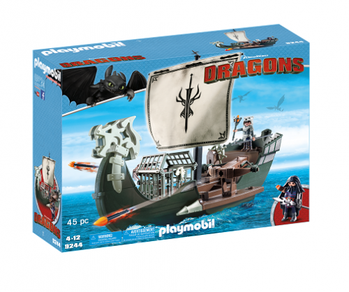 PLAYMOBIL 9244 Dragons Statek Dragons