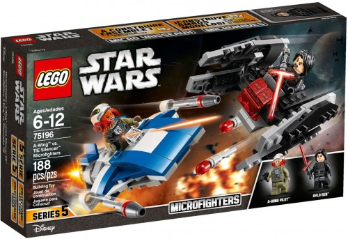 LEGO® STAR WARS 75196 A-Wing Kontra TIE Silencer