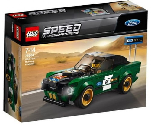 LEGO 75884 Speed Champion Ford Mustang Fastback z 1968 r