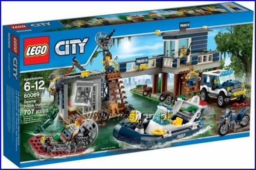 60069 City Posterunek Policji Z Bagien Rcshop