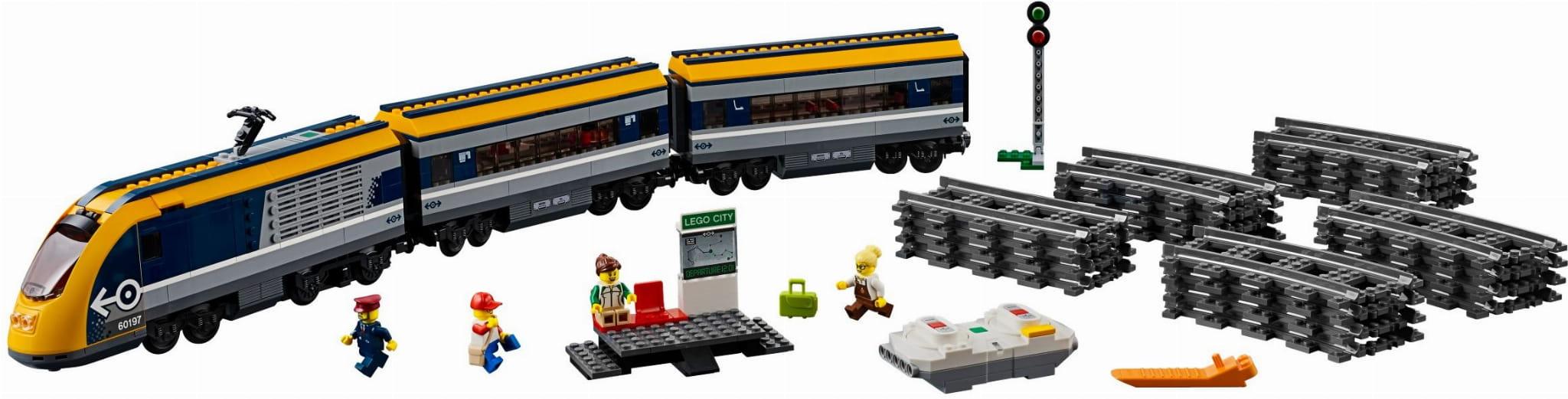 Lego City 60197 Pociąg Pasażerski Rcshop