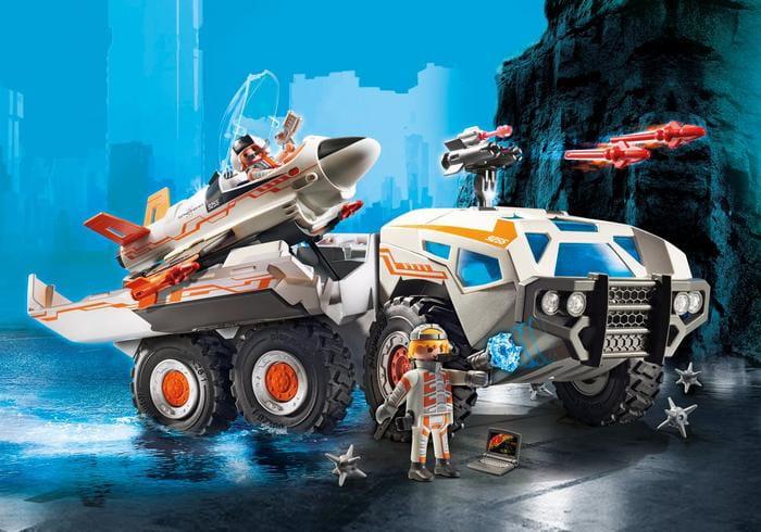 Playmobil 9255 Szpiegowska Ciężar 243 Wka Z Odrzutowcem Rcshop