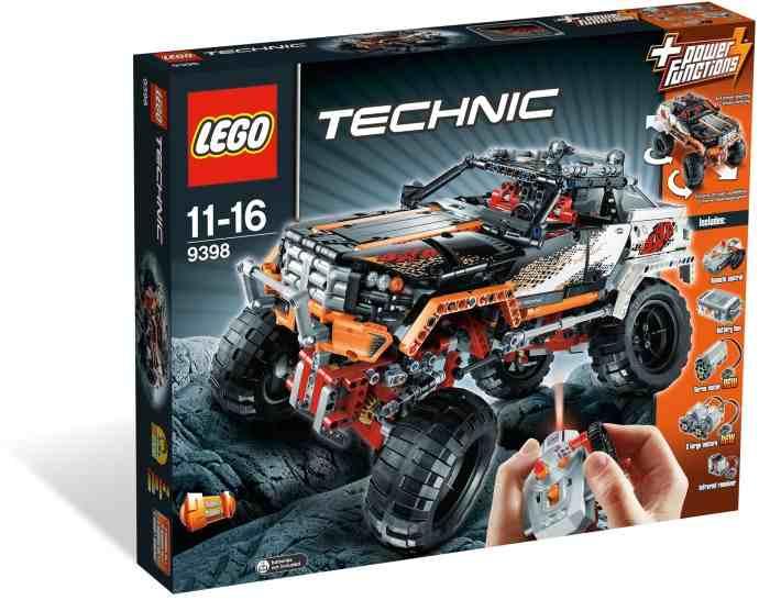 9398 Technic Zdalnie Sterowany Wóz Z Napędem 4x4 Crawler Rcshop
